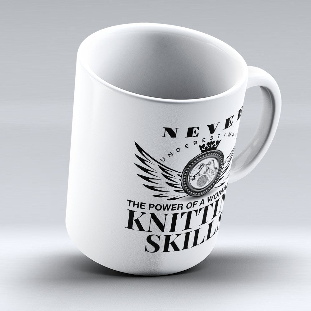 "Limited Edition - ""Knitting Skills"" 11oz Mug"