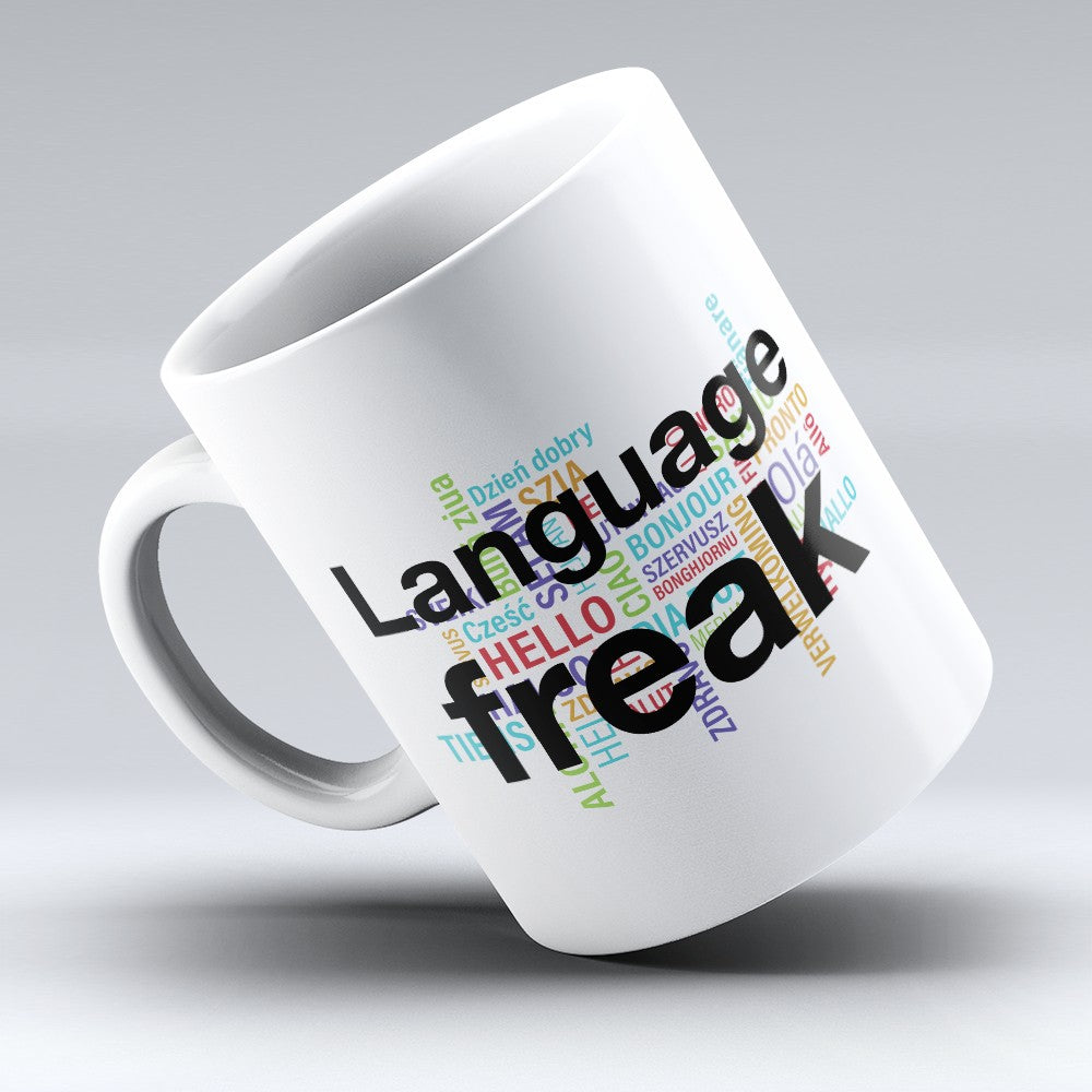 "Limited Edition - ""Language Freak"" 11oz Mug"