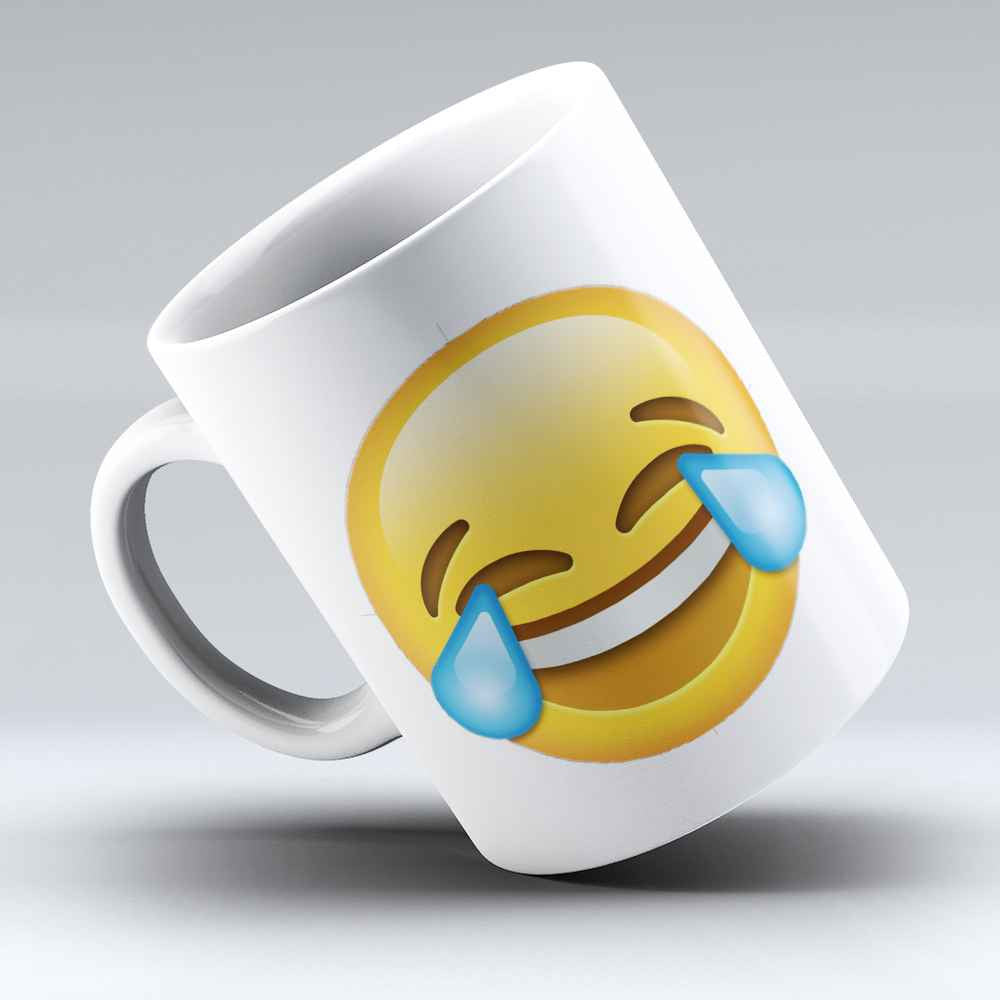 "Limited Edition - ""Laughter with Tears Emoji"" 11oz Mug"