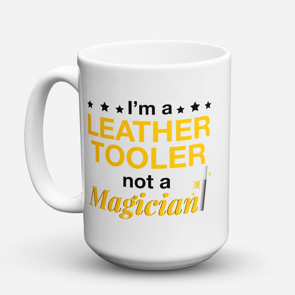 "Limited Edition - ""Leather Tooler"" 15oz Mug"