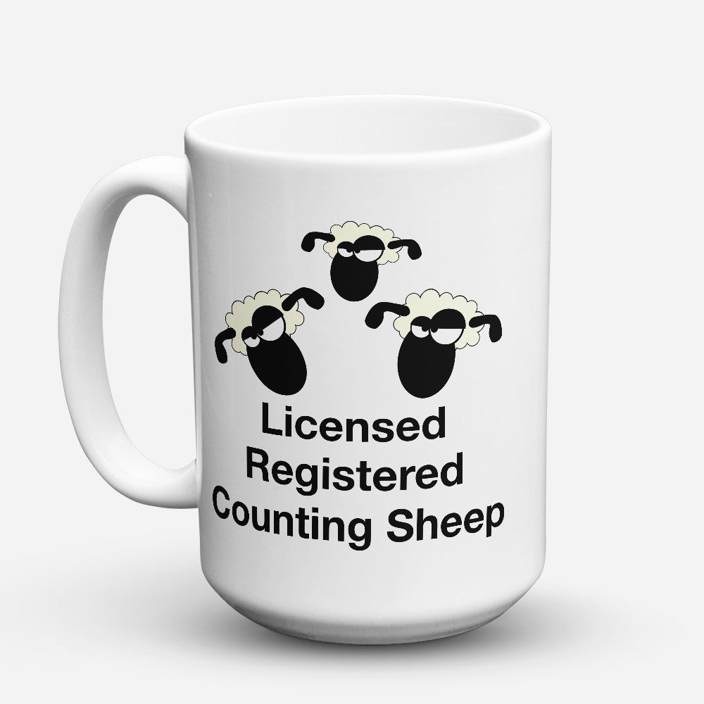"Limited Edition - ""Licensed Registered"" 15oz Mug"