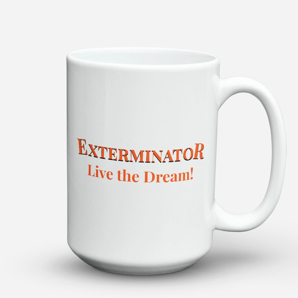 "Limited Edition - ""Live The Dream"" 15oz Mug"