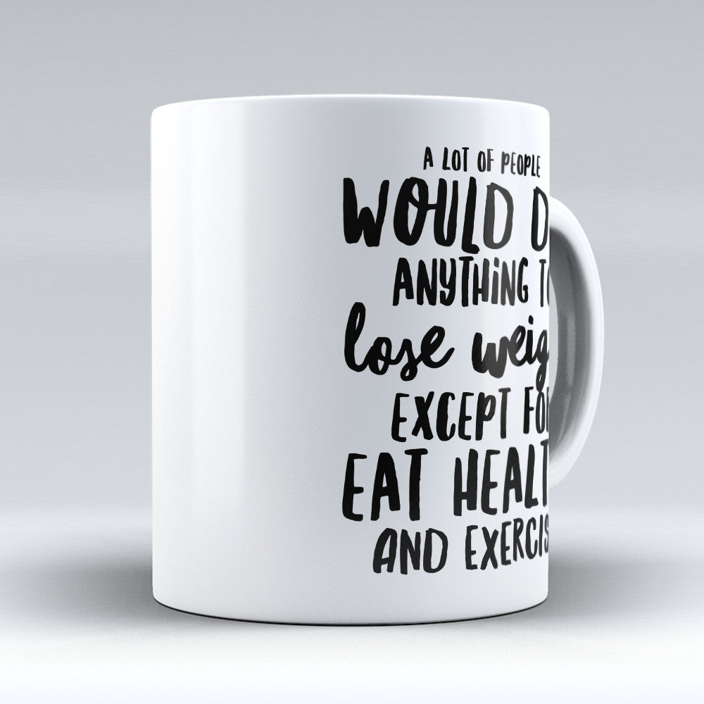 "Limited Edition - ""Dietitian Lose"" 11oz Mug - Dietitian Mugs - Mugdom Coffee Mugs"
