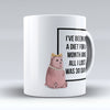 "Limited Edition - ""Dietitian Lost"" 11oz Mug - Dietitian Mugs - Mugdom Coffee Mugs"