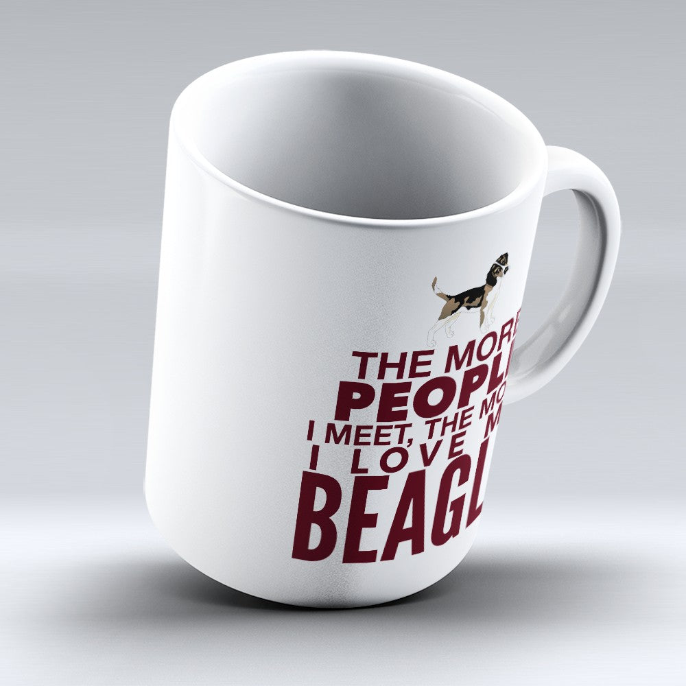 "Limited Edition - ""Love My Beagle"" 11oz Mug"