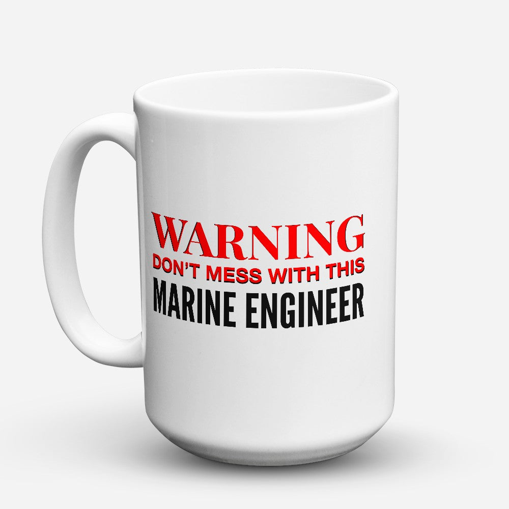 "Limited Edition - ""Marine Engineer"" 15oz Mug"