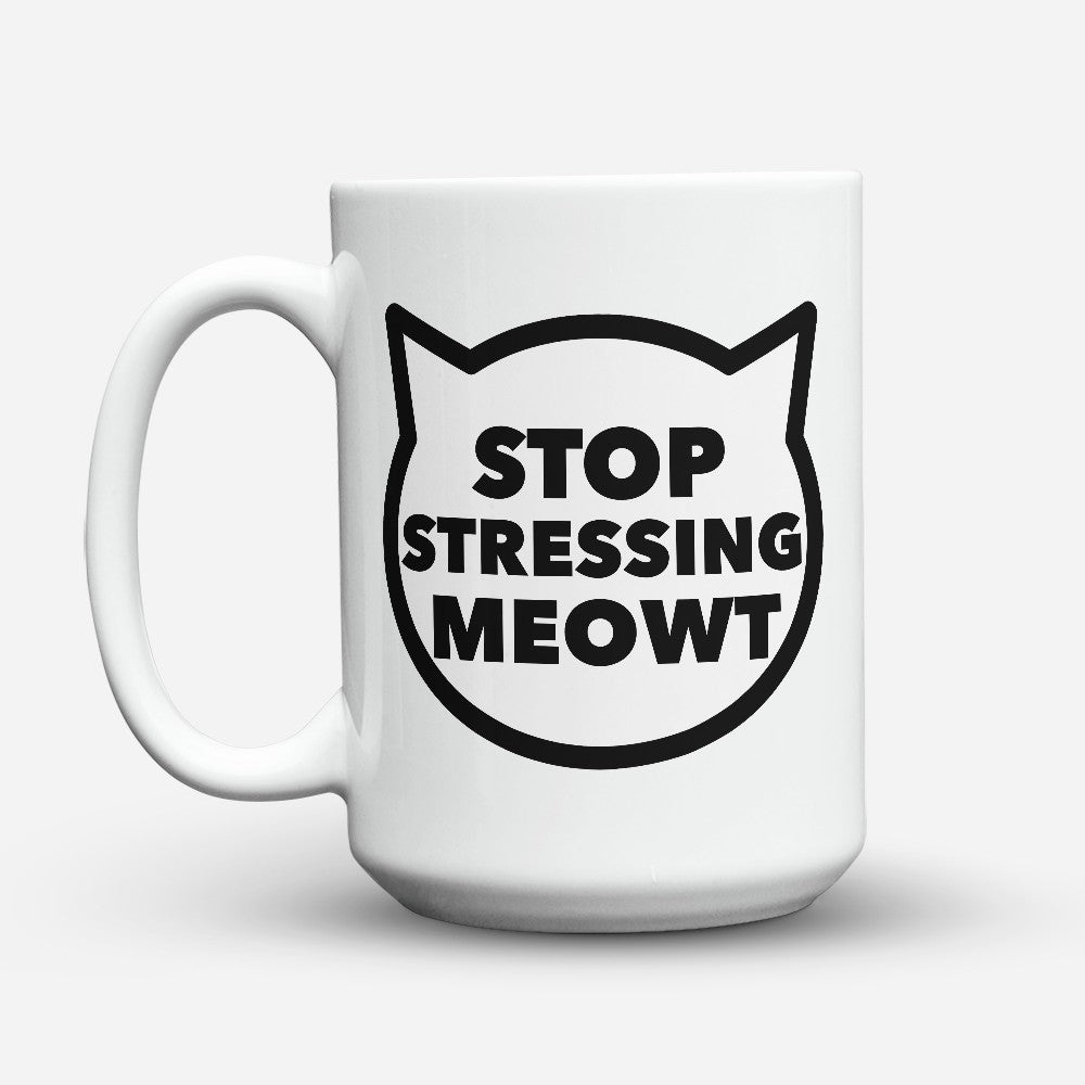 "Limited Edition - ""Meowt"" 15oz Mug"
