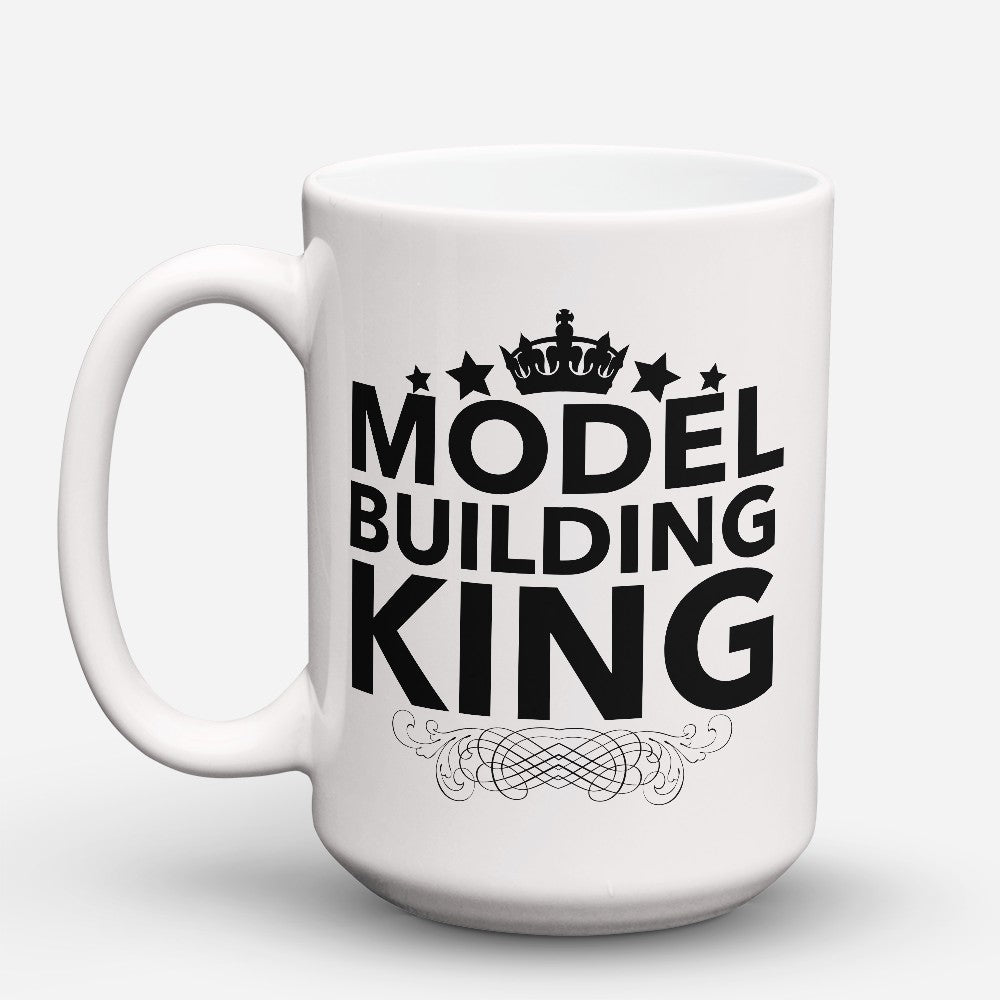 "Limited Edition - ""Model Building King"" 15oz Mug"