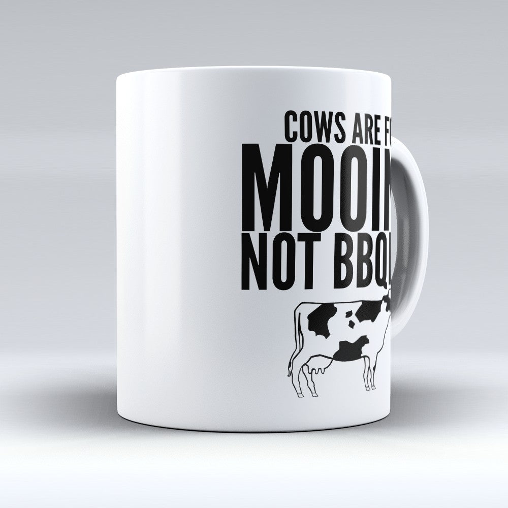 "Limited Edition - ""Mooing Not Bbqing"" 11oz Mug"