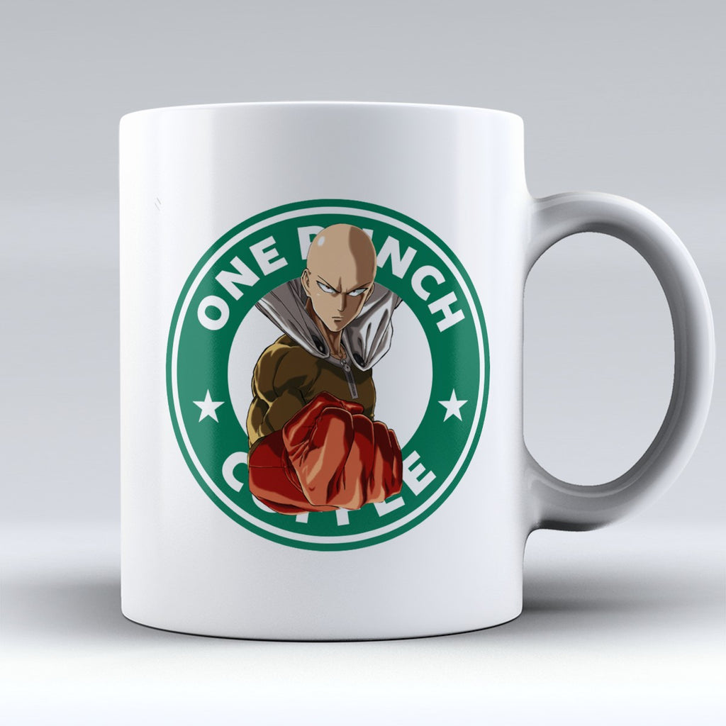 "Limited Edition - ""One Punch Coffee"" 11oz Mug - Mugdom Coffee Mugs"