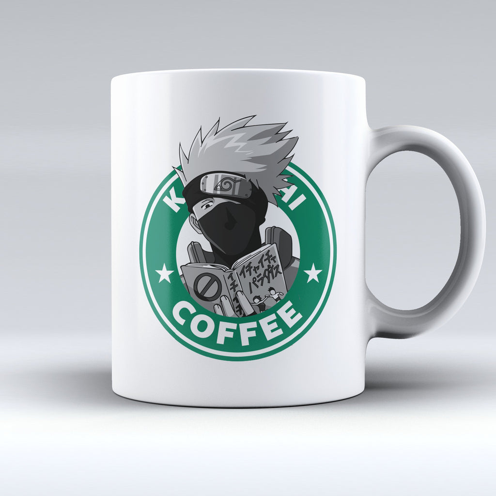 "Limited Edition - ""Kakashi Hatake"" 11oz Mug - Anime Mugs - Mugdom Coffee Mugs"