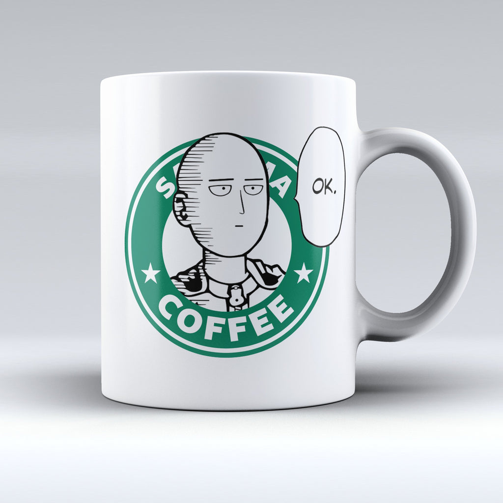 "Limited Edition - ""Saitama - OnePunch-Man"" 11oz Mug - Anime Mugs - Mugdom Coffee Mugs"