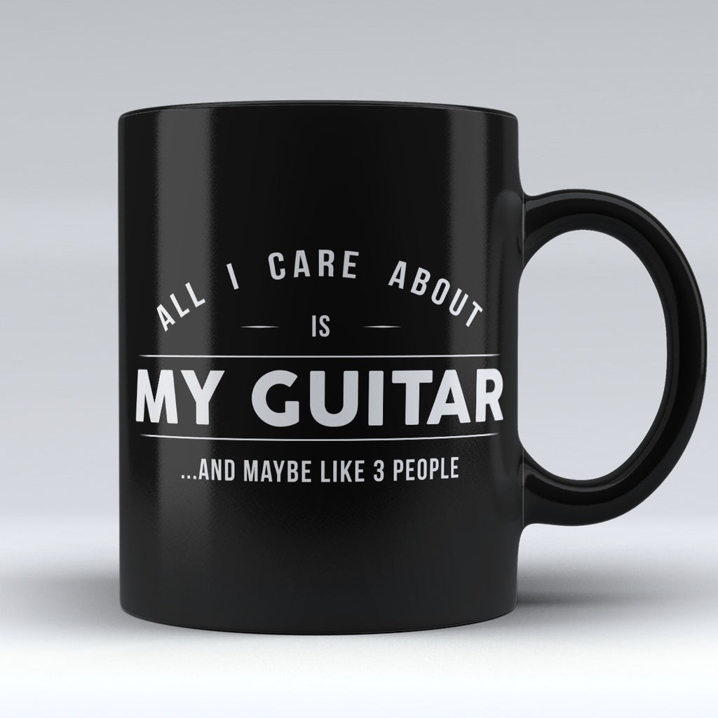 "Limited Edition - ""My Guitar"" 11oz Mug - Music Mugs - Mugdom Coffee Mugs"