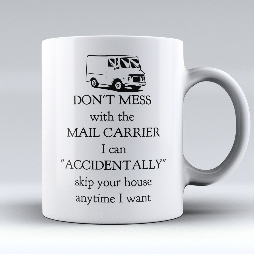 "Limited Edition - ""Mail Carrier"" 11oz Mug - Postal Worker Mugs - Mugdom Coffee Mugs"
