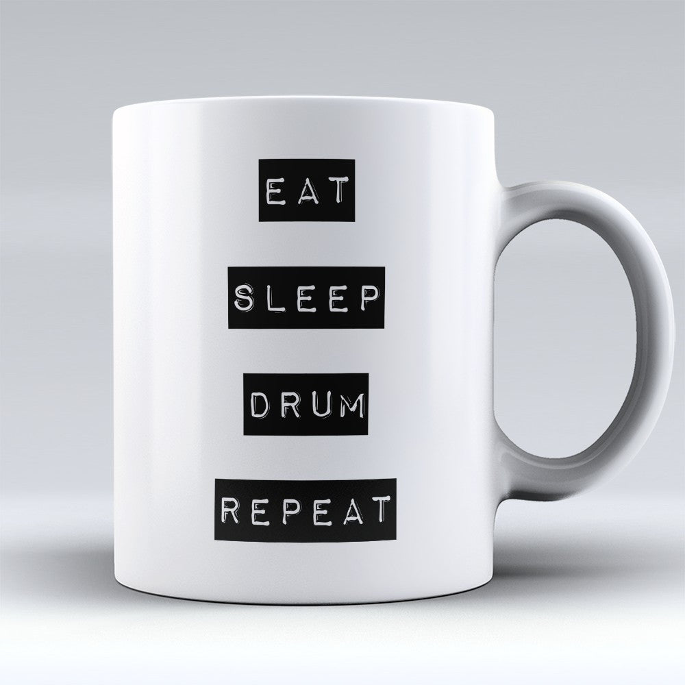 "Limited Edition - ""Repeat"" 11oz Mug - Music Mugs - Mugdom Coffee Mugs"