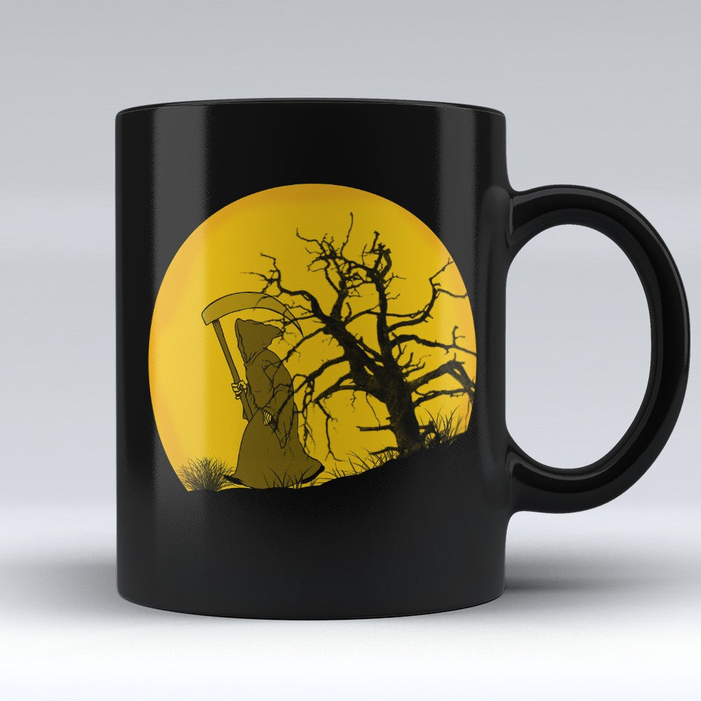 Limited Edition Halloween Mug - Grim Reaper 11oz - Halloween Mugs - Mugdom Coffee Mugs