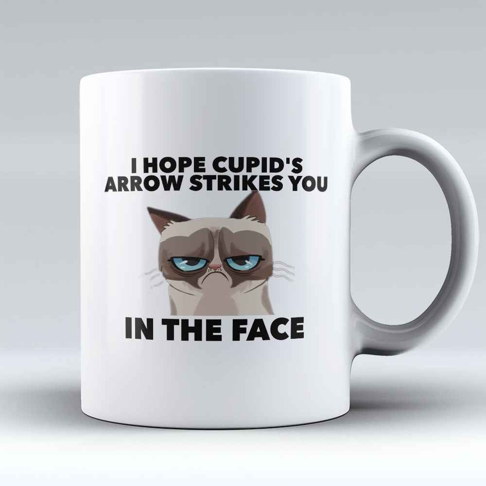 "Limited Edition - ""Cupid's Arrow"" 11oz Mug - Valentines Mugs - Mugdom Coffee Mugs"