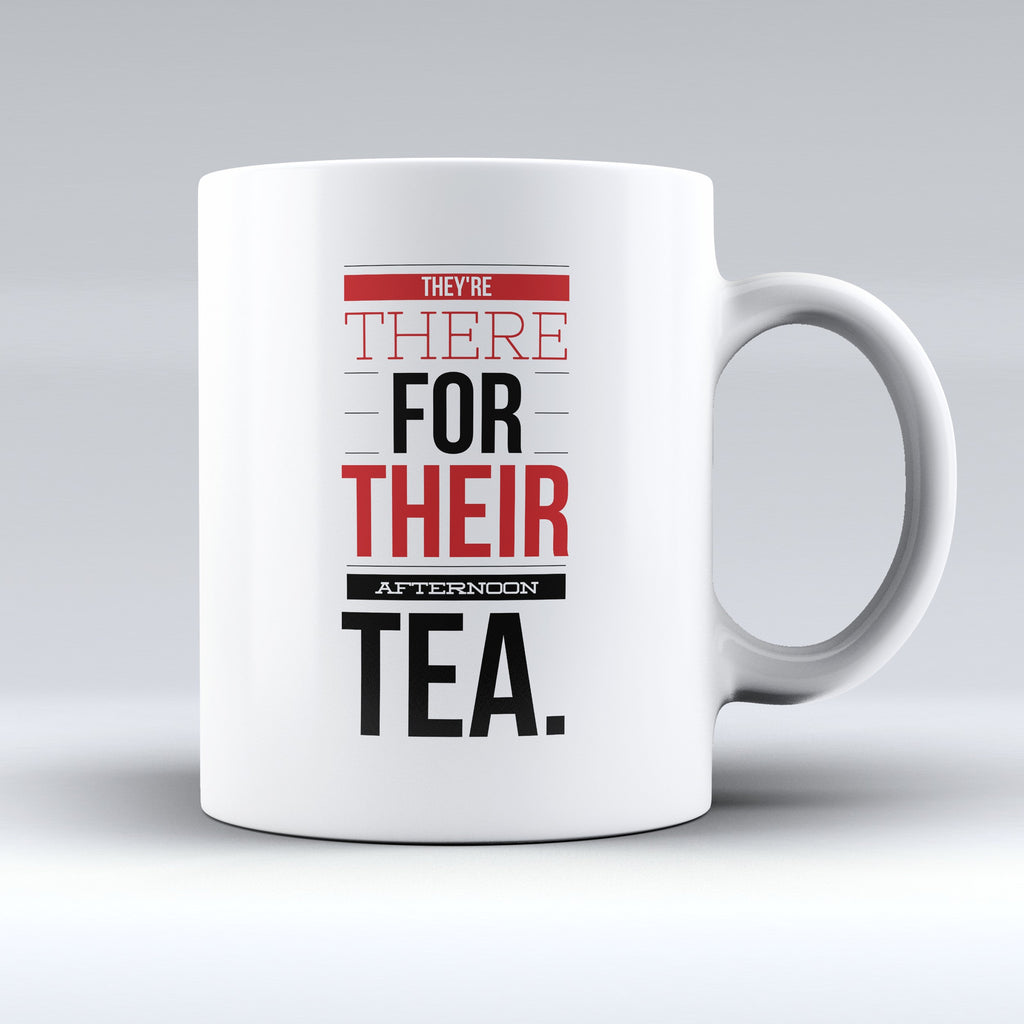 "Limited Edition - ""They're There"" 11oz Mug - Grammar Mugs - Mugdom Coffee Mugs"