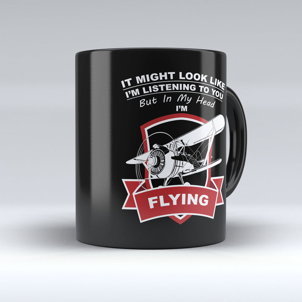 "Limited Edition - "" In My Head "" 11oz Mug - Pilot Mugs - Mugdom Coffee Mugs"