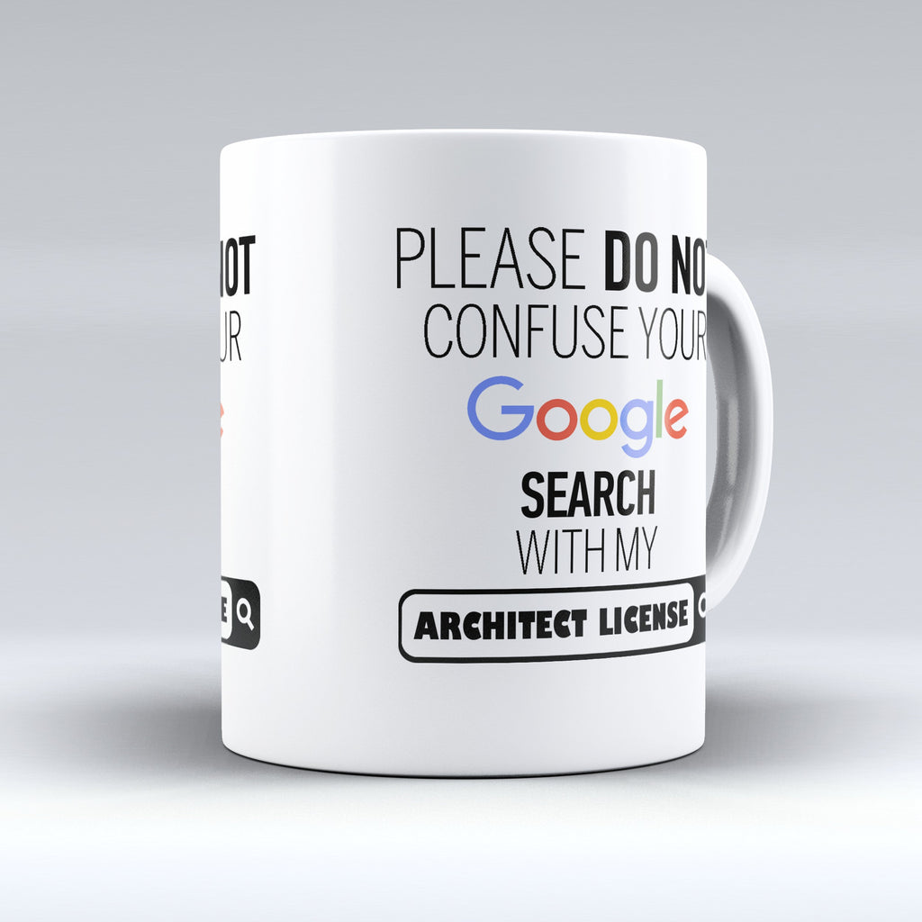 "Limited Edition - ""Architect License"" 11oz Mug - ""My Degree"" Mugs - Mugdom Coffee Mugs"