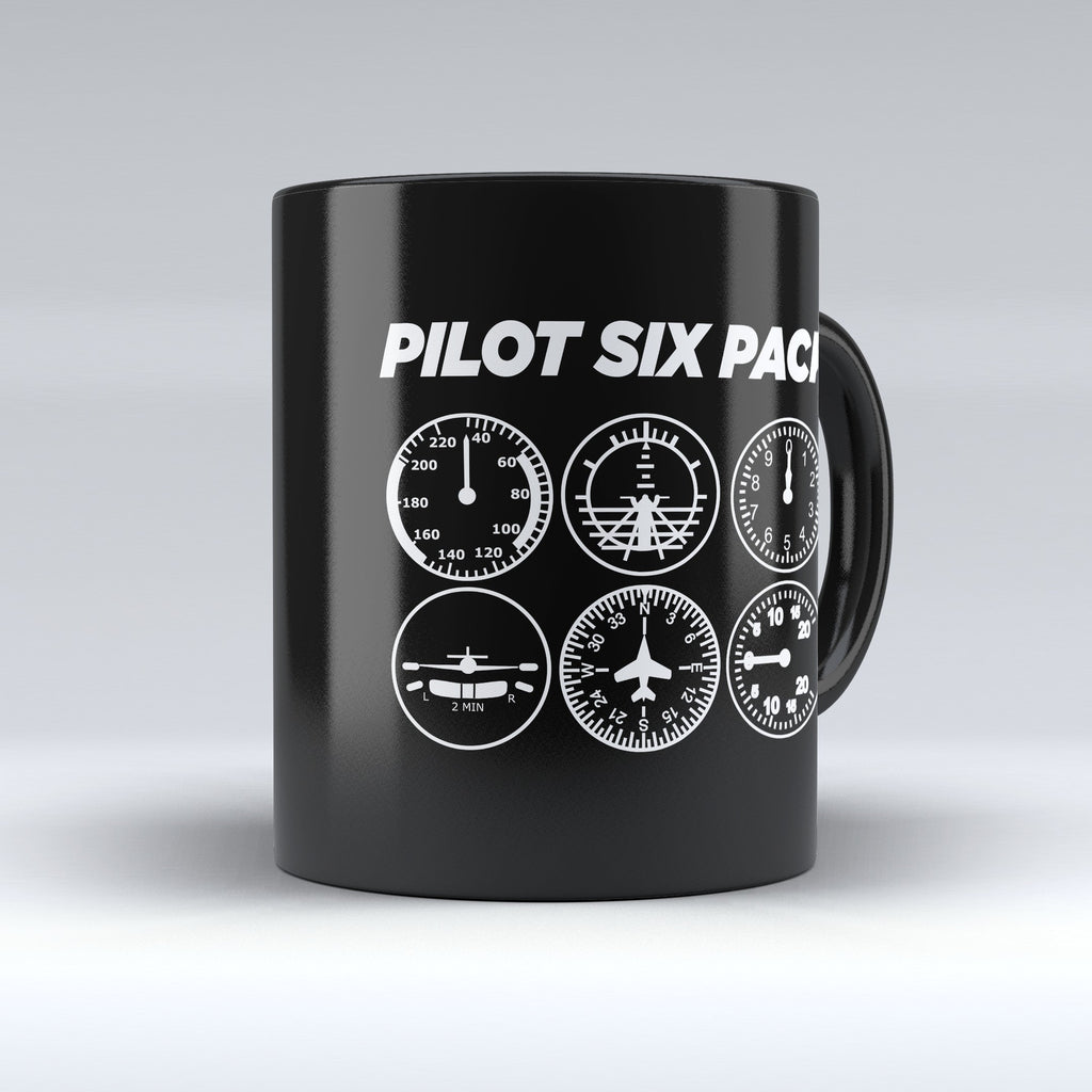"Limited Edition - ""Six Pack"" 11oz Mug - Pilot Mugs - Mugdom Coffee Mugs"