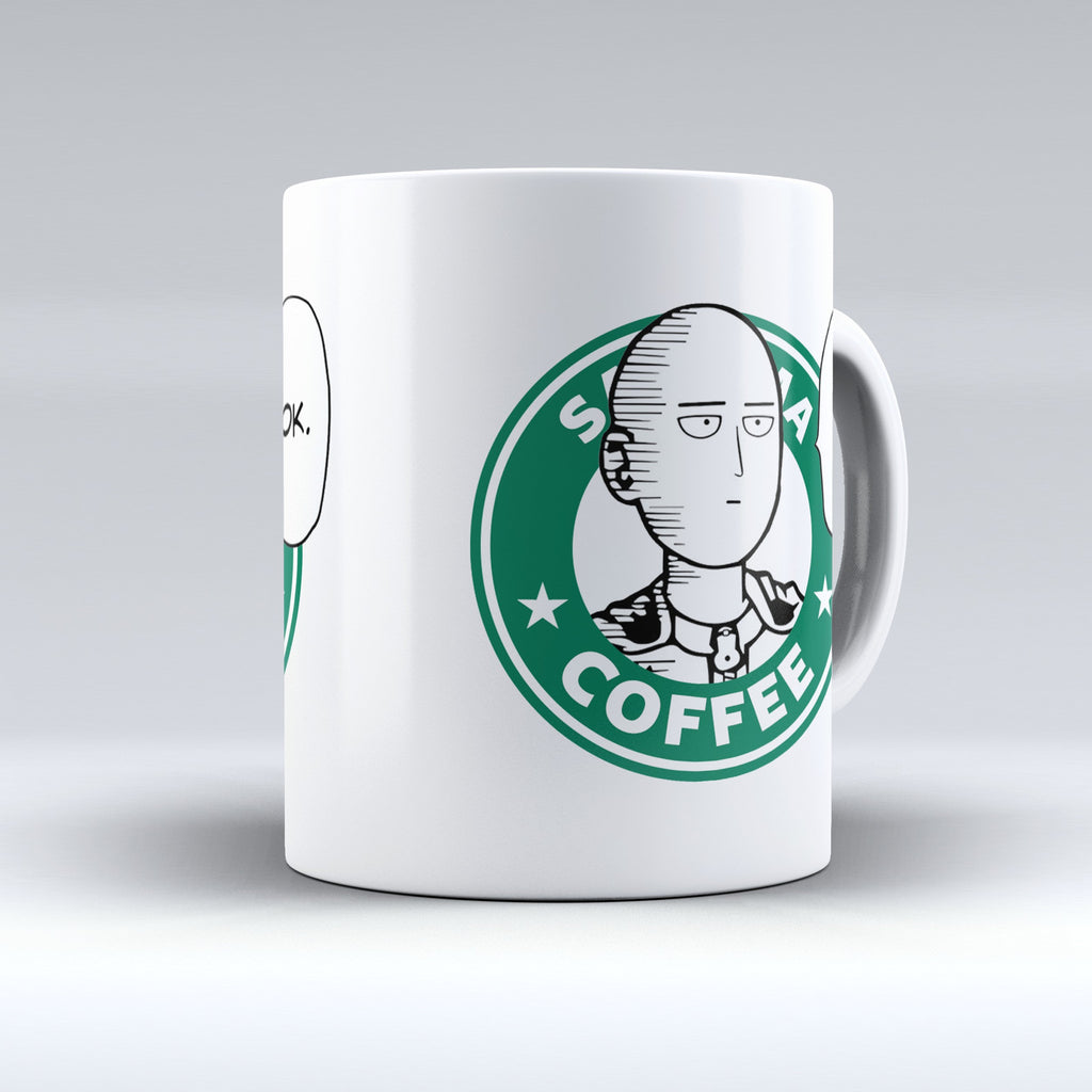 "Limited Edition - ""Saitama - OnePunch-Man"" 11oz Mug - Mugdom Coffee Mugs"