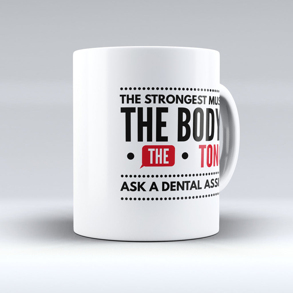 "Limited Edition - ""Tongue"" 11oz Mug - Dentist Mugs - Mugdom Coffee Mugs"