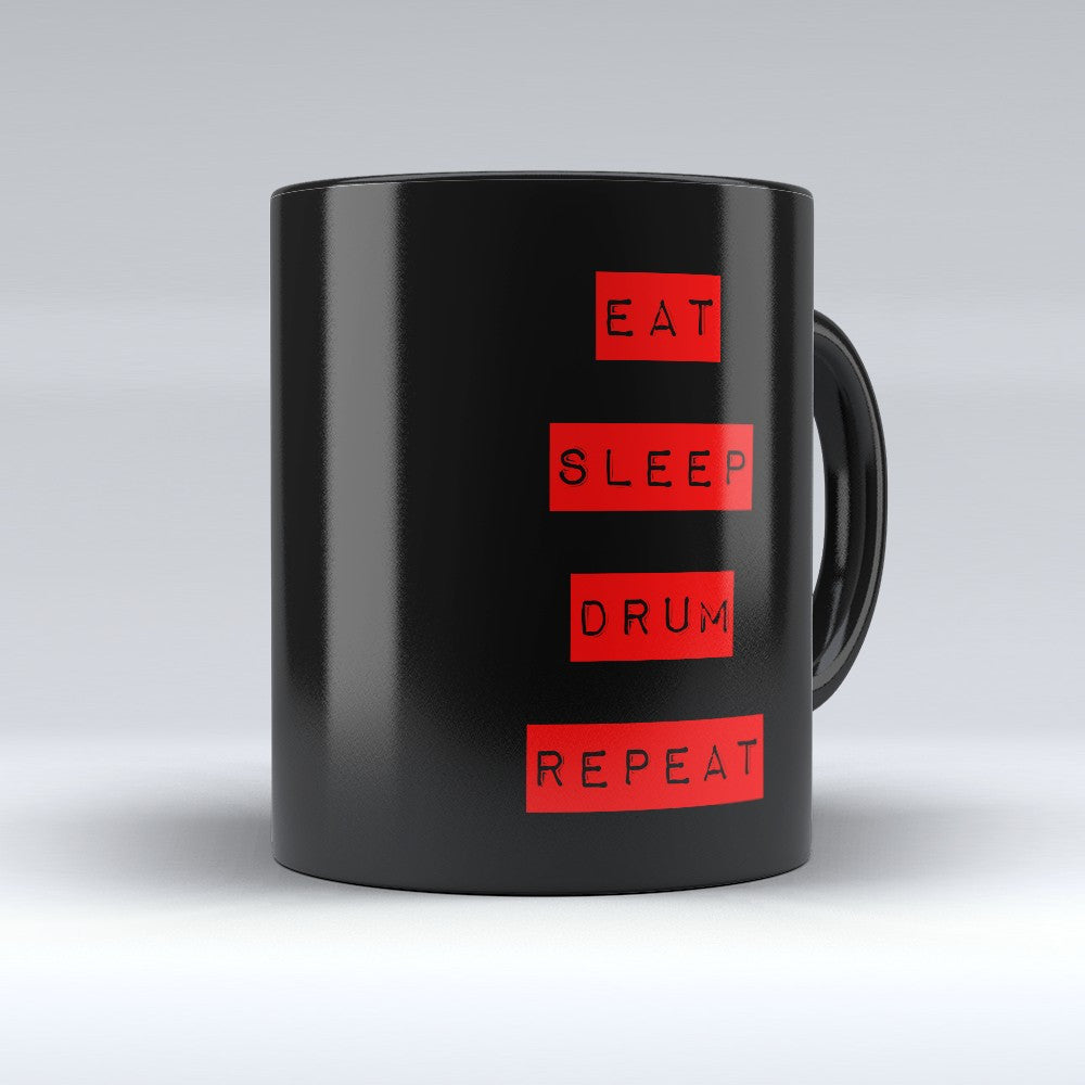 "Limited Edition - ""Repeat "" 11oz Mug - Music Mugs - Mugdom Coffee Mugs"