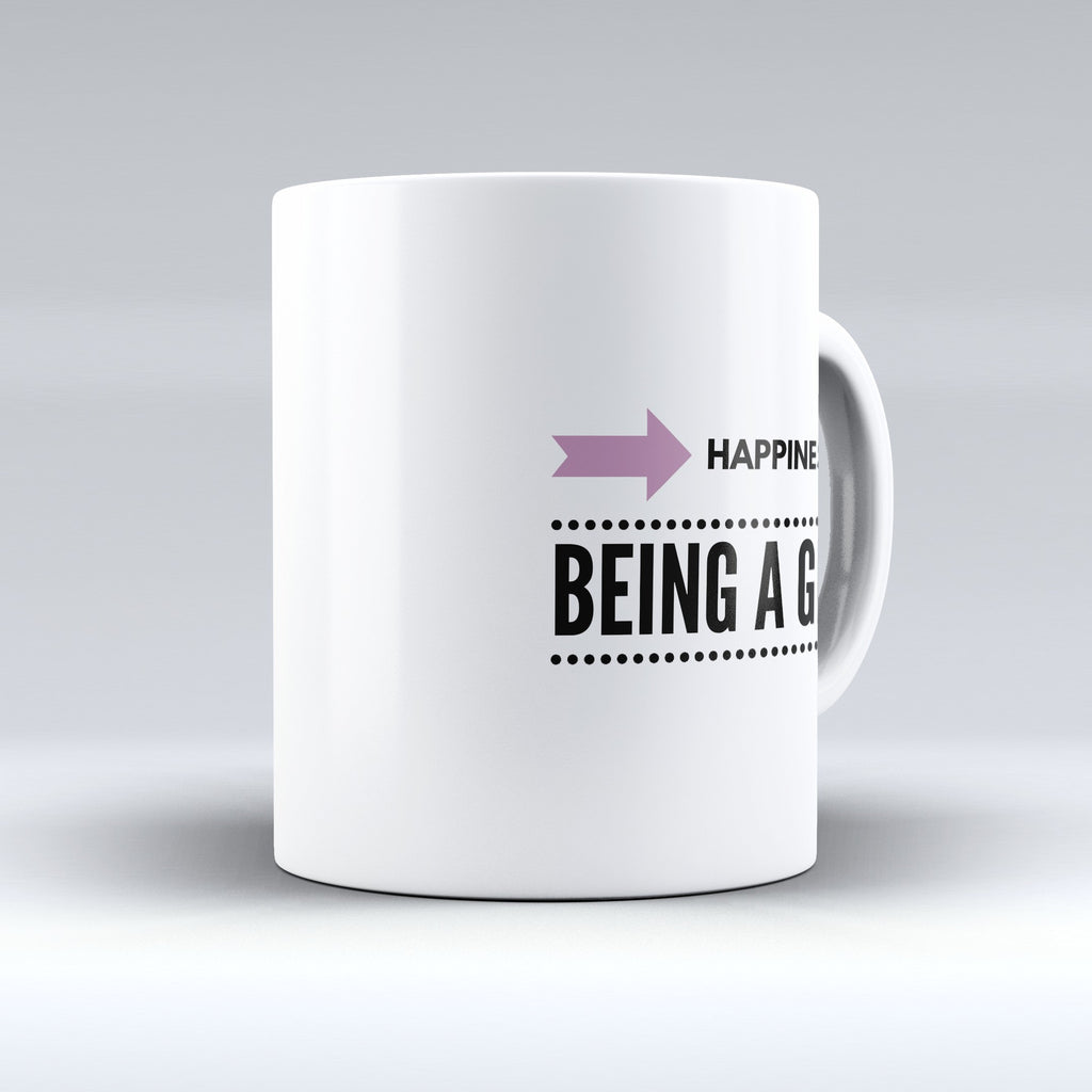 "Limited Edition - ""Happiness Is Being A Grammy"" 11oz Mug - Grandma Mugs - Mugdom Coffee Mugs"