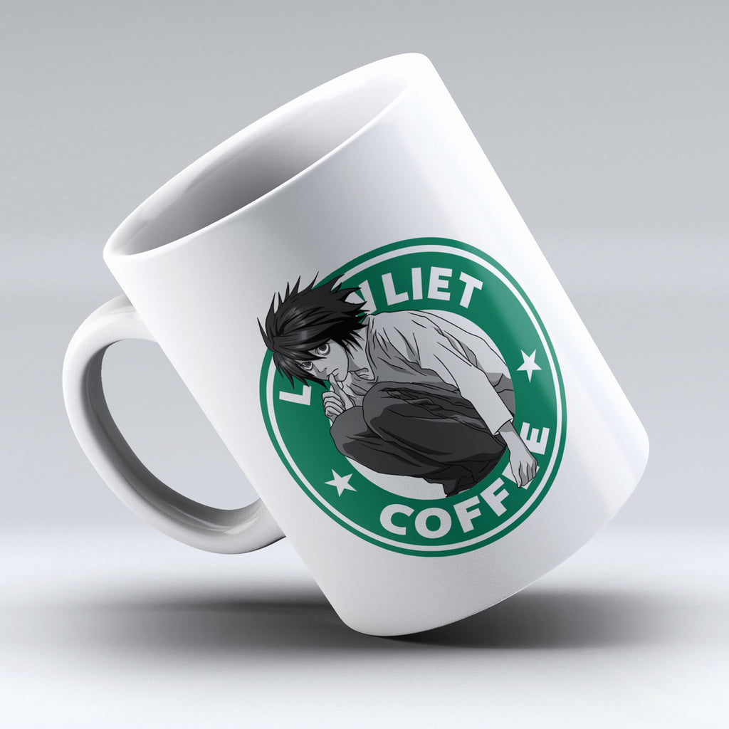 "Limited Edition - ""L Lawliet - Death Note"" 11oz Mug - Anime Mugs - Mugdom Coffee Mugs"