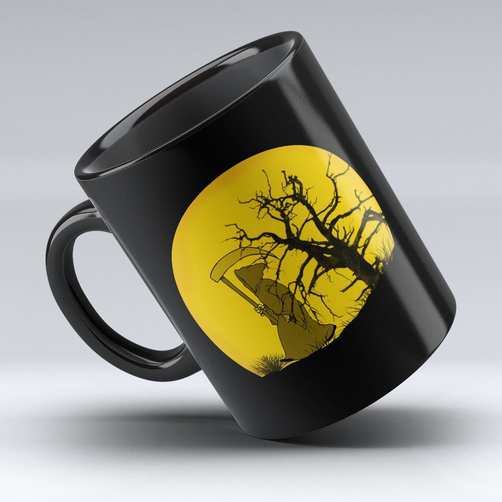 Limited Edition Halloween Mug - Grim Reaper 11oz
