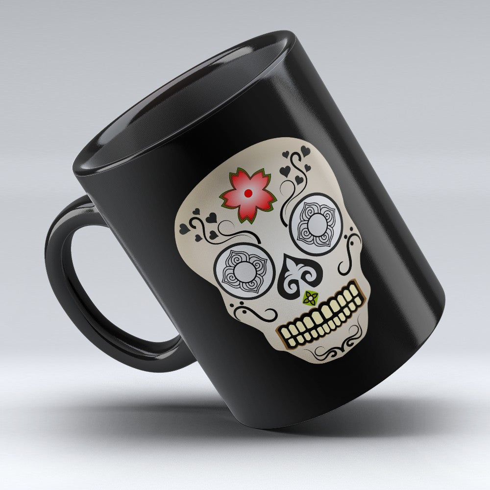 Limited Edition Halloween Mug - Mexican Skull 11oz