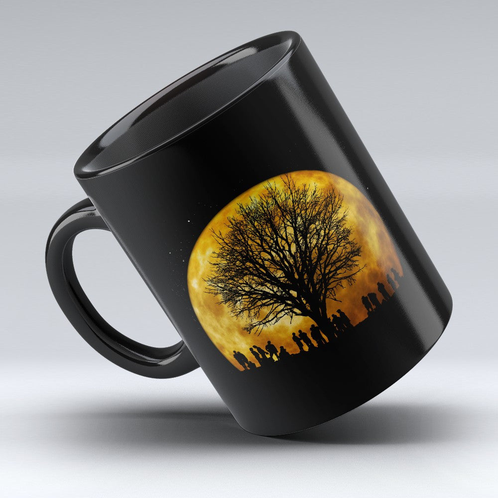 Limited Edition Halloween Mug - Tree & Moon - 11oz