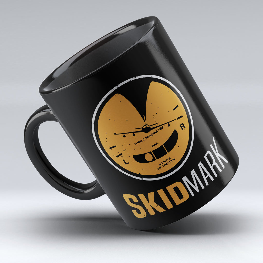 "Limited Edition - ""Skid-Mark"" 11oz Mug - Pilot Mugs - Mugdom Coffee Mugs"