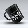 "Limited Edition - ""Beer Badminton"" 11 oz Mug - Sport Mugs - Mugdom Coffee Mugs"