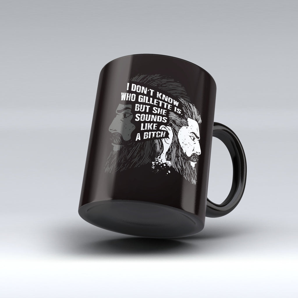 "Limited Edition - ""Gillete"" 11oz Mug - Beard Mugs - Mugdom Coffee Mugs"
