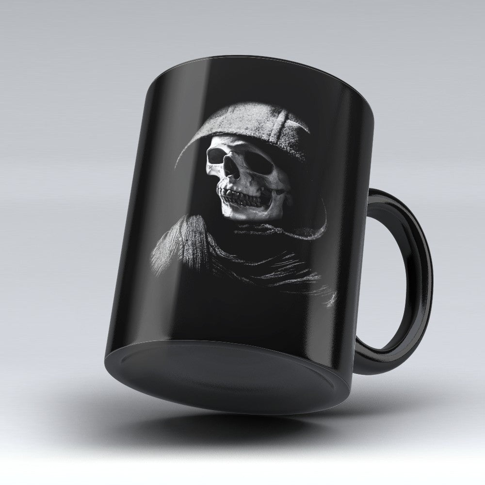 Limited Edition Halloween Mug - Skeleton Hoodie - 11oz - Halloween Mugs - Mugdom Coffee Mugs