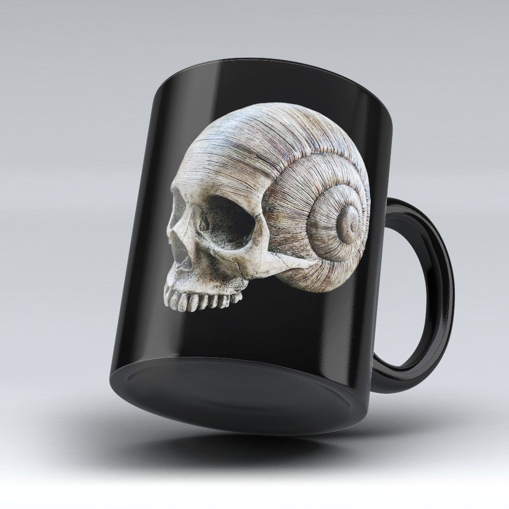 Limited Edition Halloween Mug - Snail Skull - 11oz
