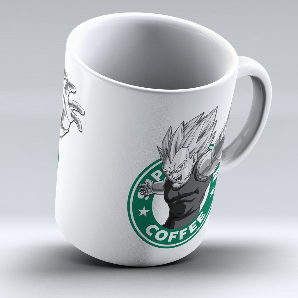 "Limited Edition - ""Vegeta - Dragon Ball"" 11oz Mug - Anime Mugs - Mugdom Coffee Mugs"