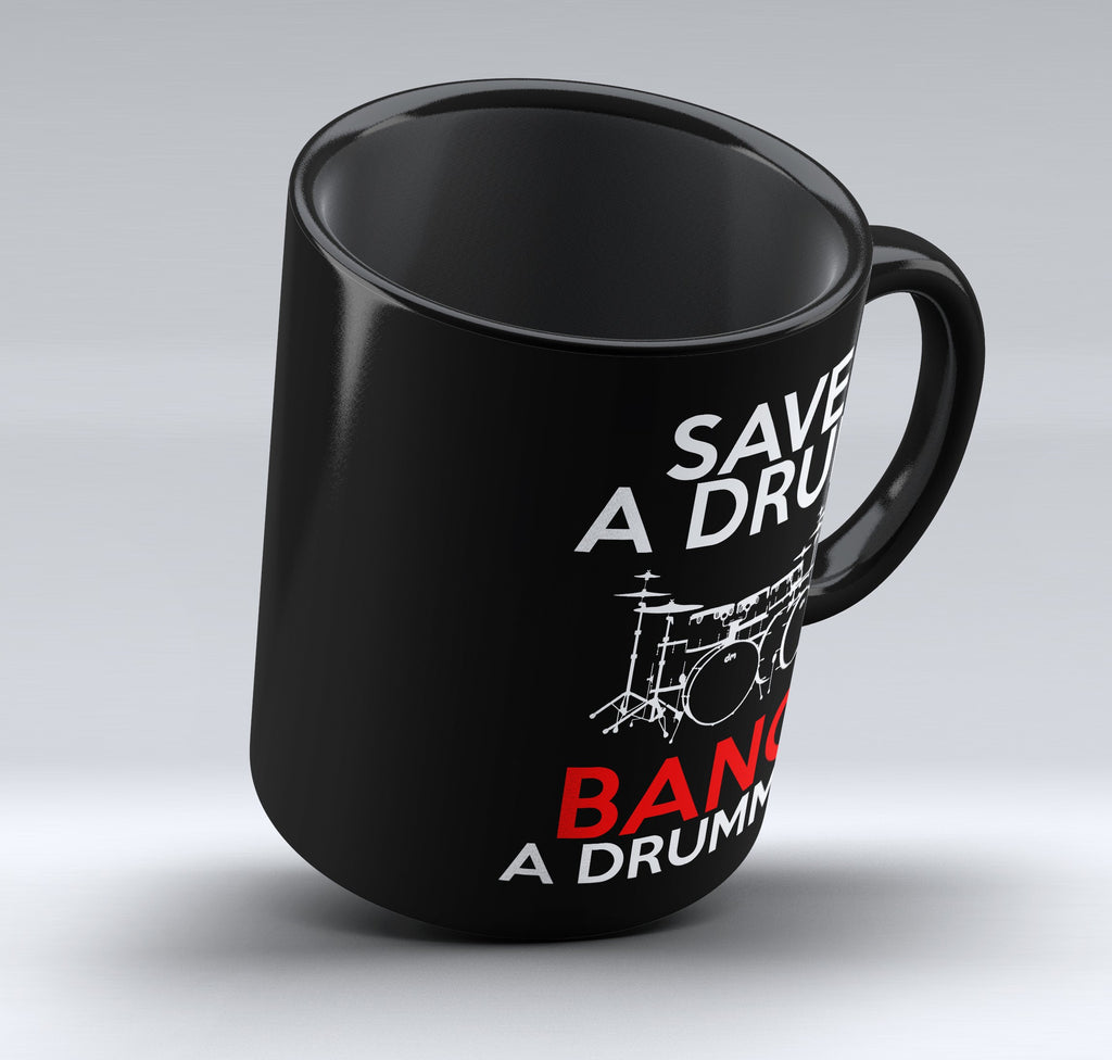 "Limited Edition - ""Save a Drum"" 11 oz Mug"
