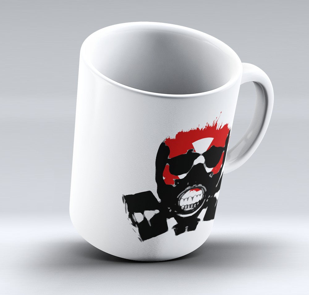 Limited Edition Halloween Mug - Gas Mask - 11oz
