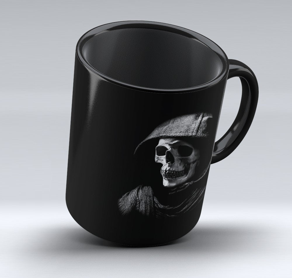 Limited Edition Halloween Mug - Skeleton Hoodie - 11oz