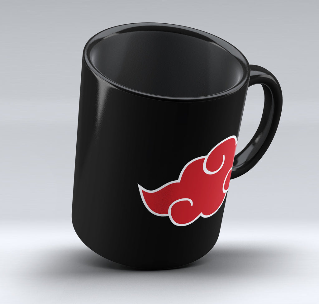 "Limited Edition - ""Akatsuki Cloud"" 11oz Mug - Anime Mugs - Mugdom Coffee Mugs"