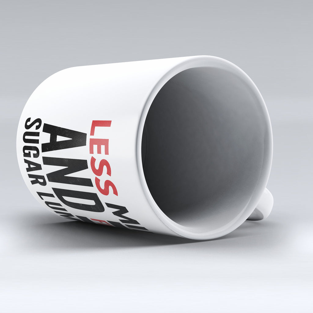 "Limited Edition - ""Less Milk"" 11oz Mug - Grammar Mugs - Mugdom Coffee Mugs"