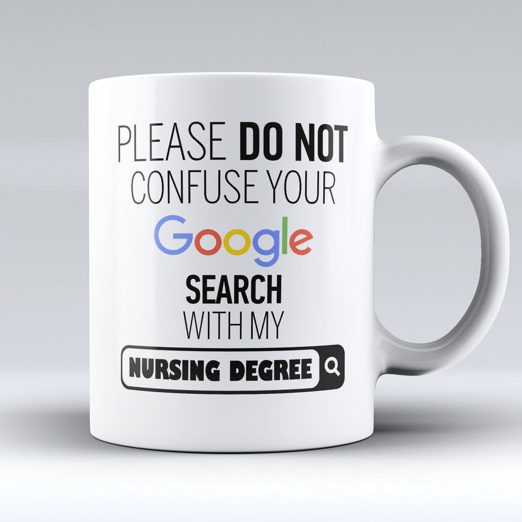 "Limited Edition - ""My Nursing Degree"" 11oz Mug - Medical Mugs - Mugdom Coffee Mugs"