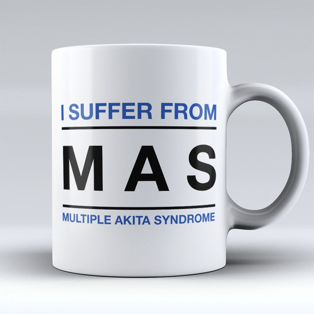 "Limited Edition - ""Multiple Akita Syndrome"" 11oz Mug"