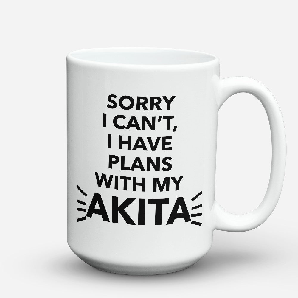 "Limited Edition - ""My Akita"" 15oz Mug"