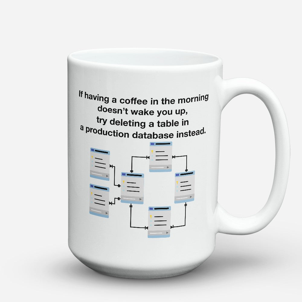 "Limited Edition - ""Mysql"" 15oz Mug"