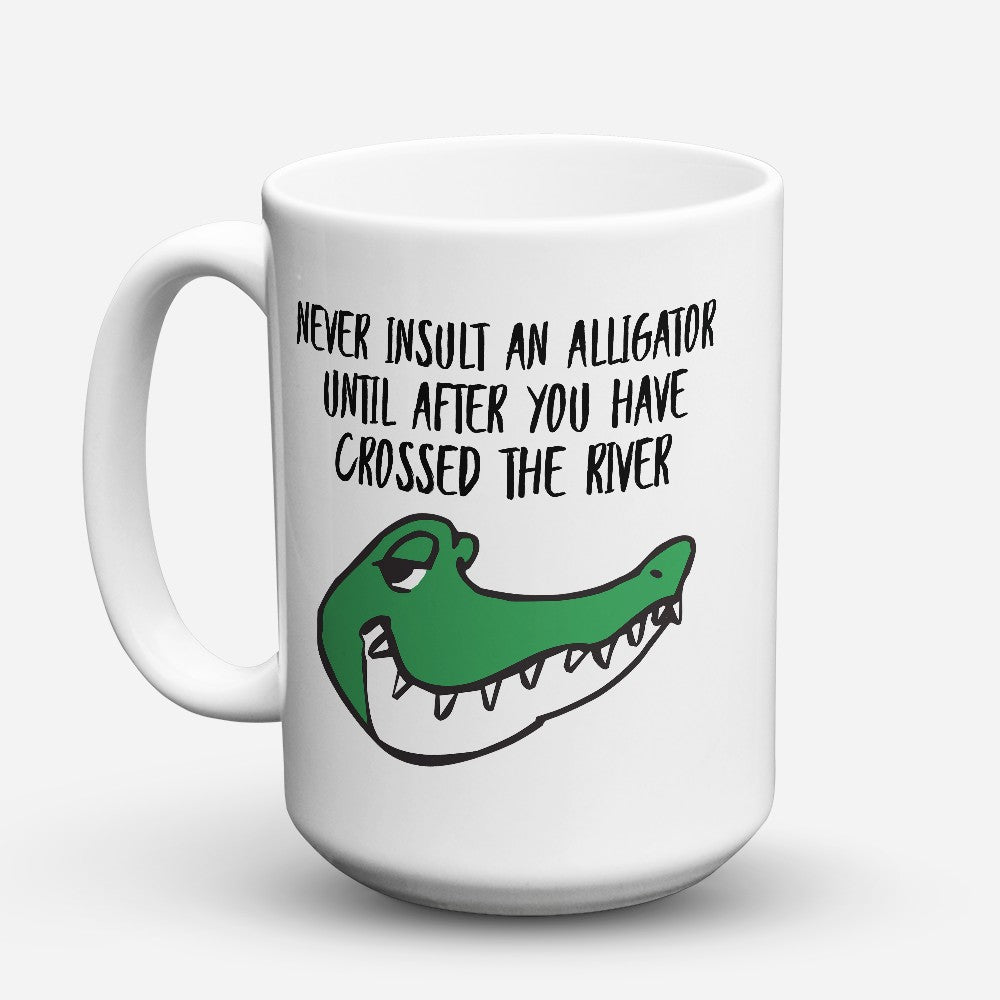 "Limited Edition - ""Never Insult"" 15oz Mug"