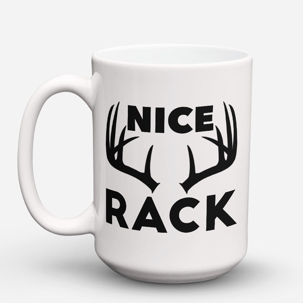 "Limited Edition - ""Nice Rack"" 15oz Mug"